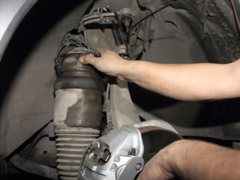 How to Install Front Shocks on a Chevy Truck