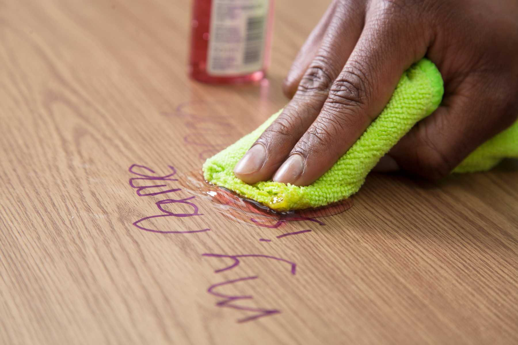 Remove Permanent Marker From Wood