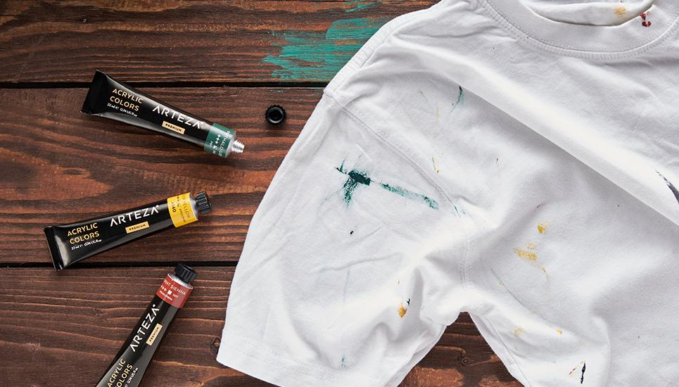 paint out of clothes