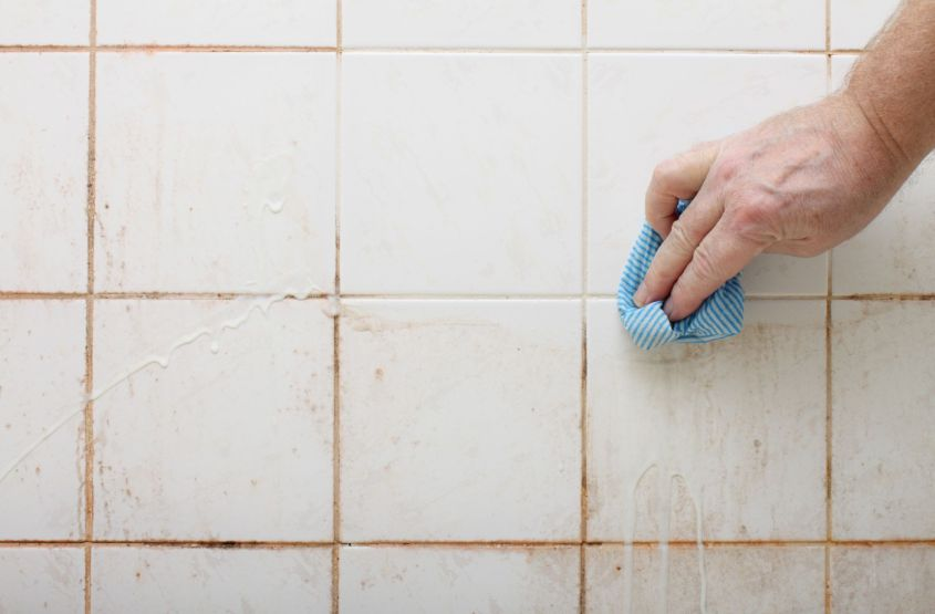 Get Grout Off Of Tile