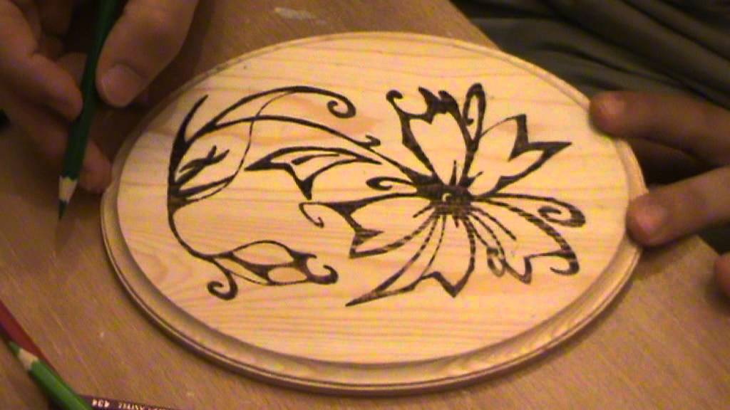 Add Color To Wood Burning