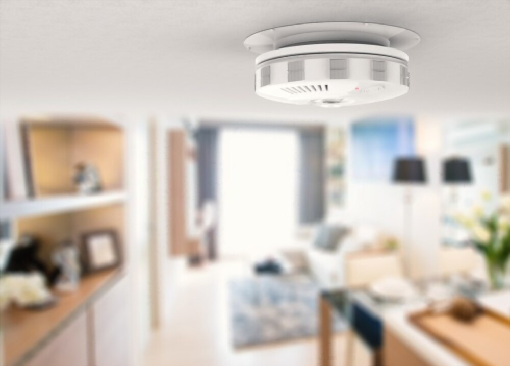 how to remove a smoke detector