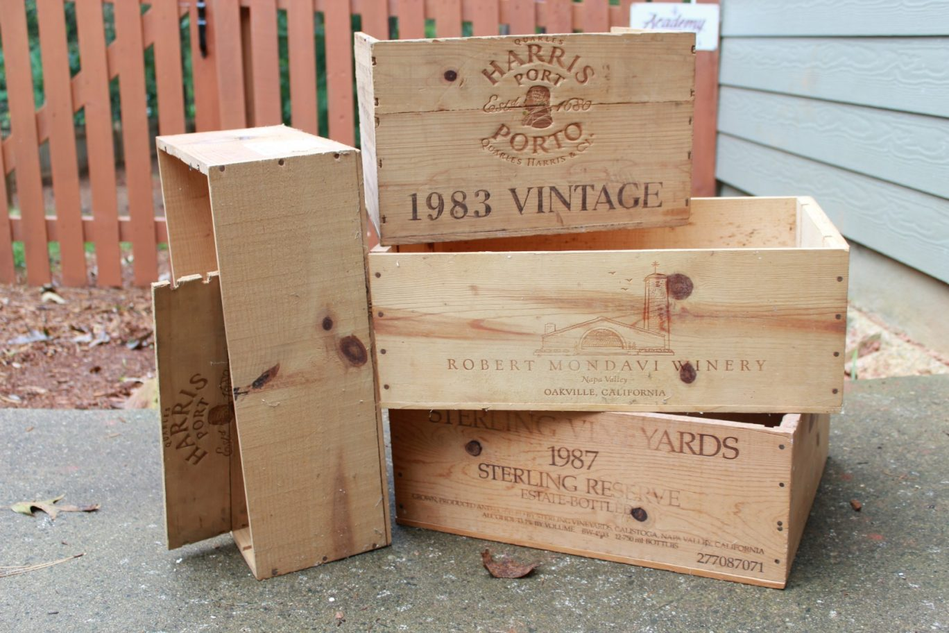 Recycled Wine Crates With Style!