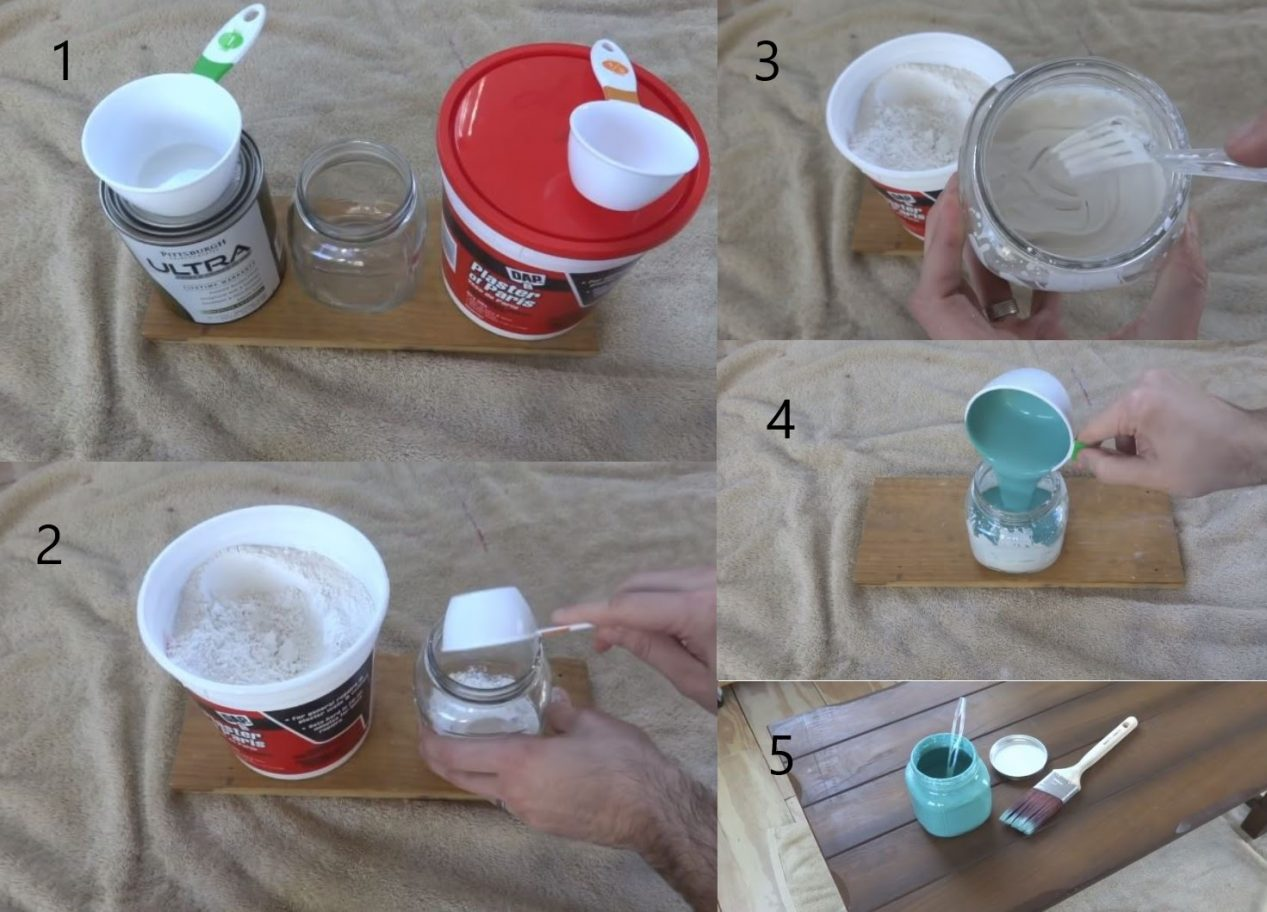 Make Chalk Paint With Plaster