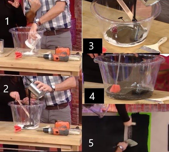 Make Chalk Paint With Tile Grout
