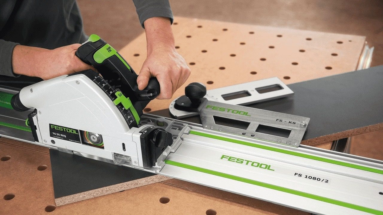 There's no doubt about a track saw's precision.